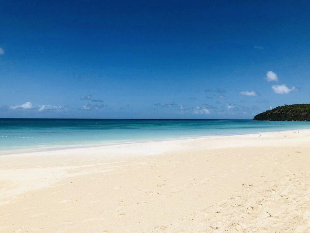Antigua plage Dickenson Bay